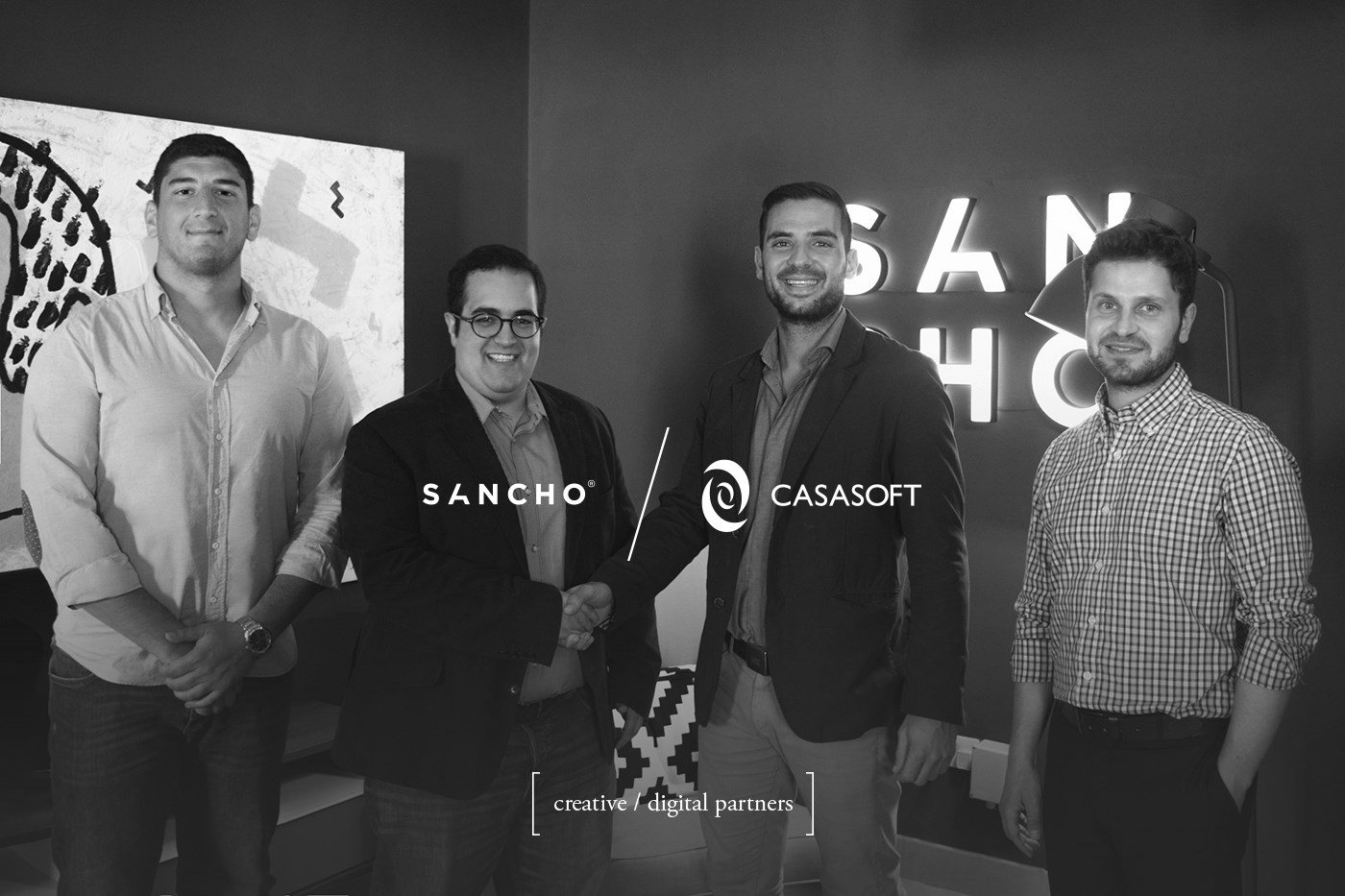 We've partnered up with local creative agency SANCHO®!