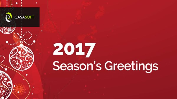 Best Wishes from CasaSoft!