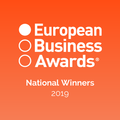 National Winners in the European Business Awards 2019
